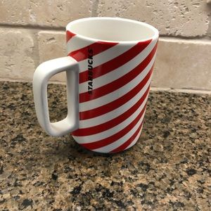 Starbucks Striped Christmas Mug New with Tags